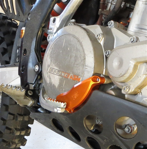 KTM Clutch Cover Guard by System Tech Racing