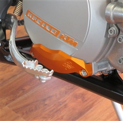 Aluminum Clutch Cover Guard for KTM  2013-14  250-300 2 Stroke
